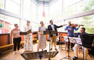 Höga Kusten Operafestival levererade en oförglömlig konsert på Dragspelets Hus i Mannaminne.