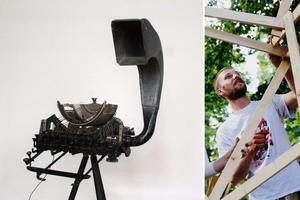Jens Haraldsson är från Örebro och har bland annat jobbat för Open Art tidigare år. Arkivbild