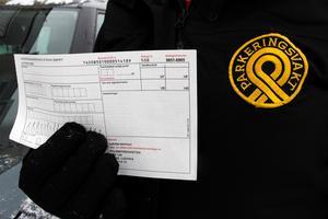 De två parkeringsvakterna är ute tidiga morgnar och kollar att bilägarna följer reglerna för datumparkering.