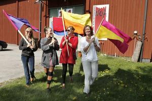 Bodil Löthman, Ina Eriksson, Sara Lindström och Carina Widlund drar igång den nya kulturfestivalen Port 14.
