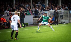 Robbin Sellin var Brages bästa spelare i 1–1-matchen mot Gais.