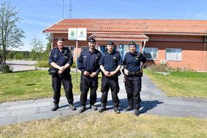Tullen i Idre där kvartetten Sebastian Westman, Peter Östman, Andreas Sivertsen och Josefin Norell hoppas att fyra ska bli fem.