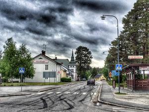 Augusti:  Slirig i Junsele.