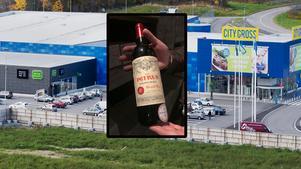Grannar i dag. Snart bittra konkurrenter om vinmarknaden i Örebro. Bilden är ett montage.