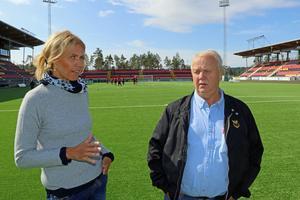 Både Maria Wilén och Bo Ottosson berättar om att ÖFK stöps om och att det nu gäller att,