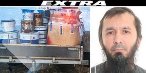 Terrordömde David Idrisson med koppling till Strömsund. Foto ur polisens förundersökning.