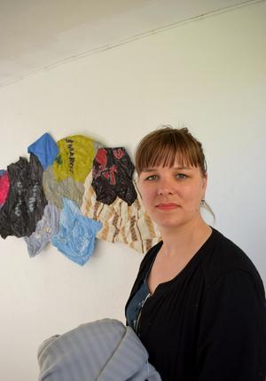 Hållams Linnea Henriksson läser på Konstfack i Stockholm och till hösten börjar hon sista året.