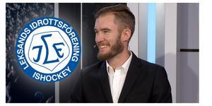 Petter Carnbro har skrivit på ett treårskontrakt med Leksands IF, som analytiker. Bild: Skärmdump Cmore
