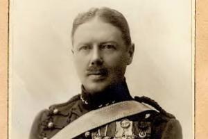 Samuel August Duse. Polarforskare, bästsäljande författare och officer på Norrlands artilleriregemente i Östersund.