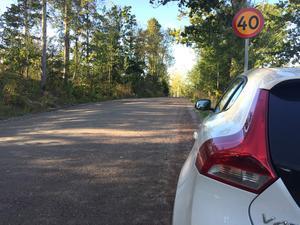 Det finns två vägar in till Gäddeholm, båda är grusvägar. Vägarna är gropiga, men har tung trafik. De flesta som bor i Gäddeholm måste ha två bilar, eftersom alla ska kunna åka till jobb, skola, nöjesliv och träning i Västerås.