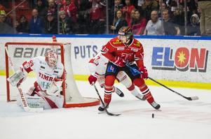 Viktor Lodin slog igenom i Örebro Hockey i fjol. I helgen blev han draftad av Ottawa Senators. Bild: Johan Bernström/Bildbyrån