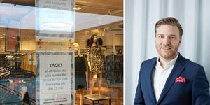 """""""Vi har inga ytterligare planer på att stänga fler butiker den närmaste tiden"""" säger Erik Holmén, Indiskas försäljningschef."""