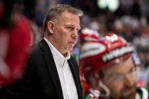 Mats Lusth är den tredje tränaren som deltar i Hypotetiskt med Hockeypuls. Foto: Bildbyrån.