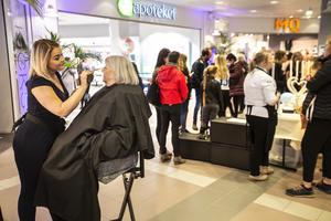 Det var olika aktiviteter att titta på och delta i för besökarna  i Hudiksvalls centrum.