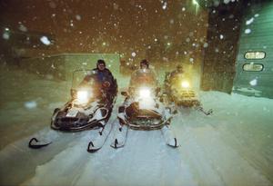 Kommunen uppmanade alla med snögående fordon att anmäla sig.