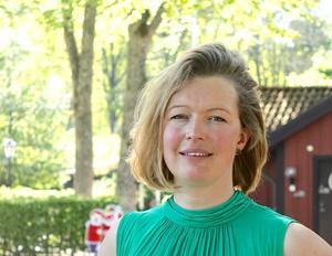 Utvecklingschef Stina Gof kommer att lyssna på idéer som kommer fram i Visionspalatset.