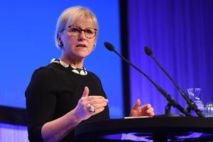 Utrikesminister Margot Wallström (S) vill inte gå med i Nato.Foto: Henrik Montgomery/TT