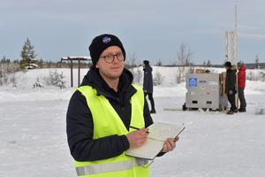 Måns Rasmussen håller koll på detaljerna och var den som höll i fjolårets premiäruppskjutning.