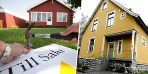 Två villor i Dalarna har sålts med en prislapp på 4 975 000 kronor vardera. Dessa försäljningar sticker ut lite extra på Lantmäteriets lista över de senast genomförda fastighetsaffärerna i Dalarna. Obs: Bilderna föreställer två andra hus.