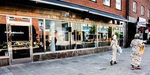 Sibylla på Sturegatan i centrala Västerås är stängt. Oklart varför.