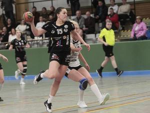 Maja Allgulander är effektiv torped när Strand får igång sitt kontringsspel.