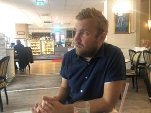 Olle Wiberg är inne på sitt andra år på sitt treårskontrakt med VSK.