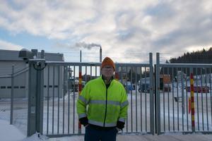 Henrik Henriksson, facklig i Sundsvall, tror att det kan bli viss köbildning på båtar i hamnen och en del övertid.