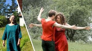 Koreografen och dansaren Linda Forsman är en del av integrationsprojektet DANSLUST.Foto: Johan Källs