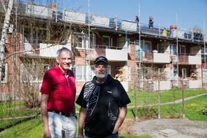 Mats Hiertner och Erik Eriksson flyttade både till Tersen för gemenskapen.