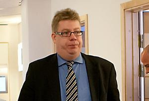 Advokat Erik Hansson.