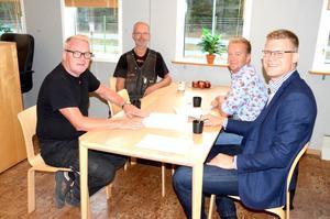 Slutpunkterna i affären gjordes upp i Vaggeryd på onsdagen. På måndag kommer Byarums snickeri att ha en ny ägare.