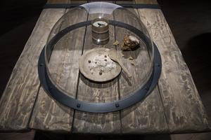 Museet Vikingaliv på Djurgården visar en vikingafrukost.