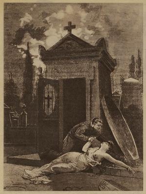 På 1840-talet härjade nekrofilen François Bertrand,