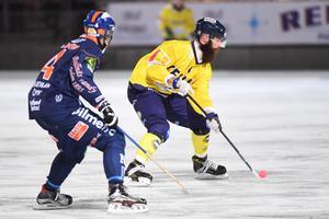 Martin Krigh är på väg tillbaka efter den otäcka skadan i vintras. Foto: Fredrik Sandberg / TT