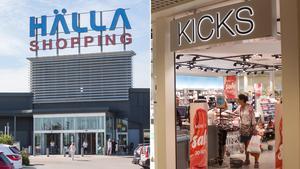 Hälla tappar ytterligare en butik under våren. Efter H&M lämnar nu även Kicks.