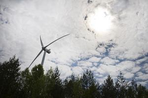 Green investment group övertar nu vindkraftsprojektet i Överturingen i Ånge kommun av SCA och Turinge Energi. Bild: Lars Pehrson/TT