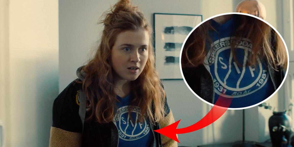 """Därför bär Amy """"Diamond"""" Deasismont en t-shirt från Spillersboda IF i nya hyllade serien"""