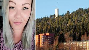 Mathilda Sjödin var med och tog initiativ till grillkvällen för singlar på Norra berget. Bild: Privat och Arkiv