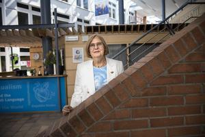 Barbara Bergström, grundare av Internationella Engelska Skolan Foto: Malin Hoelstad / SvD / TT