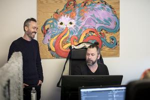 Zoinks vd Klaus Lyngeled och art director Andreas Beijer. Arkivbild: Björn Larsson Rosvall
