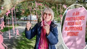 Lena Lundqvist är ordförande i bröstcancerföreningen Hilda i Örebro län.