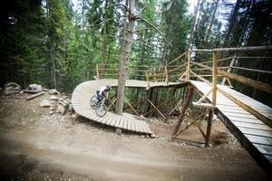 Nya träbroar var en av nyheterna inför säsongen 2011.