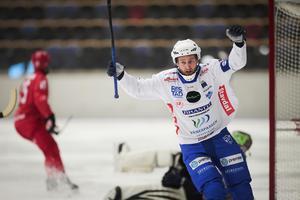 Joakim Hedqvist blev tvåmålsskytt mot Start.