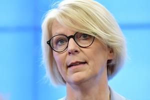 Moderaternas ekonomisk-politiske talesperson Elisabeth Svantesson (M). Arkivbild.
