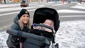 26-åriga Louise Rodin från Sundsvall tror på en ljus framtid för Sundsvall, även om åtta kommuner växt förbi befolkningsmässigt sedan 1986.