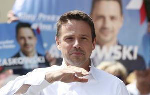 Den liberale borgmästaren Rafal Trzaskowski kan återuppbygga polackernas förtroende för landets demokrati. Foto: AP Photo/Czarek Sokolowski.