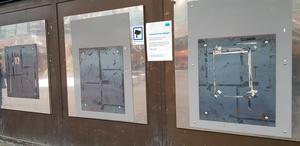 Swedbanks uttagsautomater är sedan länge stängda.