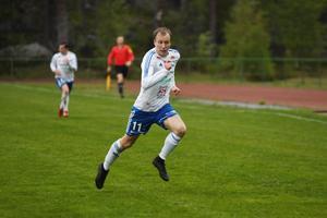 Niklas Norman gjorde matchens enda mål.