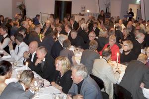 Omkring klockan 20:25 startar livesändningen från Culinar där cirka 300 gäster närvarar. Arkivfoto: Johan Wahlgren