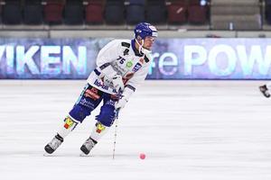 Jesper Eriksson spelade på sprutor i semifinalen, och kommer att vila den kommande veckan.